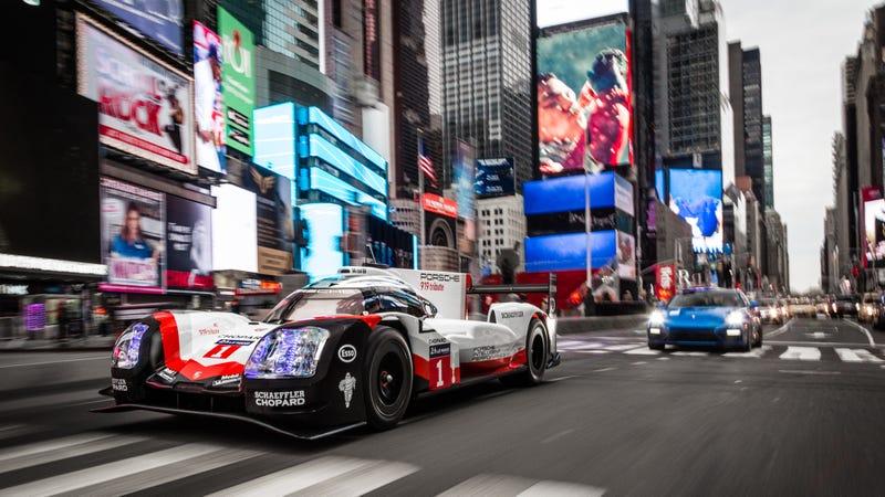 All photos: Porsche