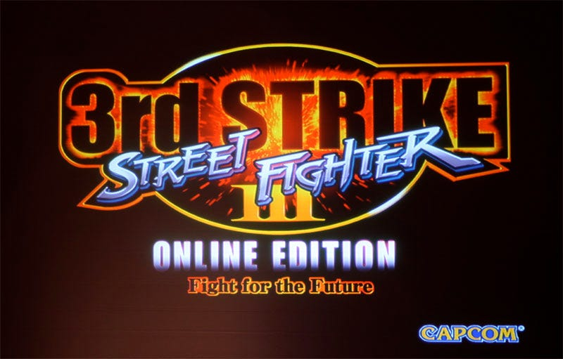 Illustration for article titled Street Fighter III: 3rd Strike Online Edition Announced At Comic-Con