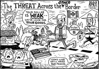 Illustration for article titled Editorial Cartoon - November 12, 2007