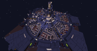 Illustration for article titled It Took Two Years To Make Final Fantasy VII's Midgar In Minecraft