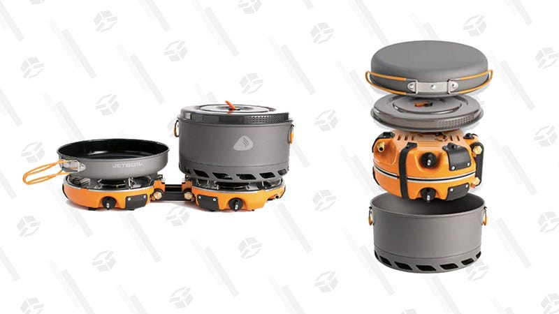 Ditch the Sandwiches On Your Next Camping Trip and Bring This Jetboil Cooking System
