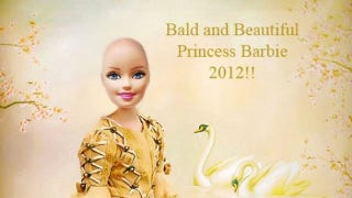 Illustration for article titled The Campaign to Make Barbie Bald
