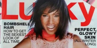 Kerry Washington on the cover of Lucky magazine's December/January issueTwitter