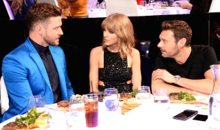 Illustration for article titled What Were Justin, Taylor, and Ryan Talking About?