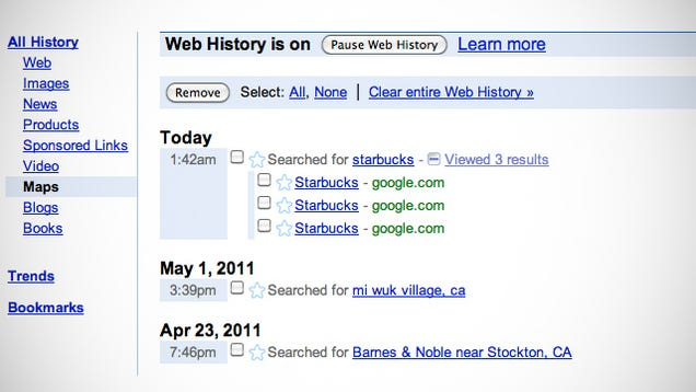Google now web history - How to - 30.3KB