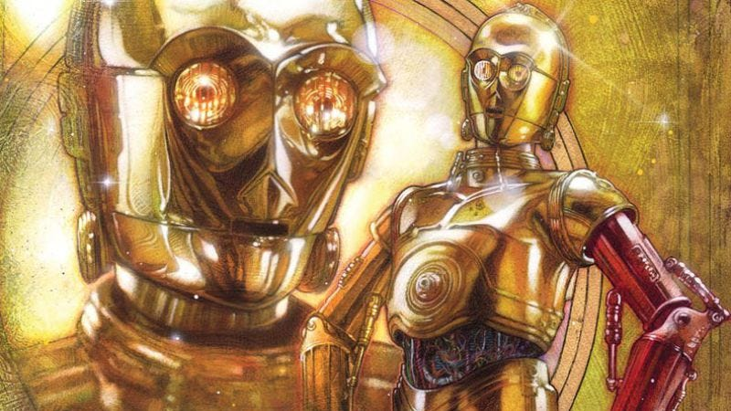Illustration for article titled James Robinson returns to form by giving C-3PO a backstory