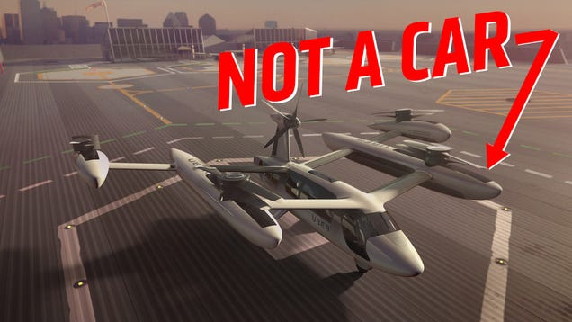 There Is No Such Thing As A Flying Car