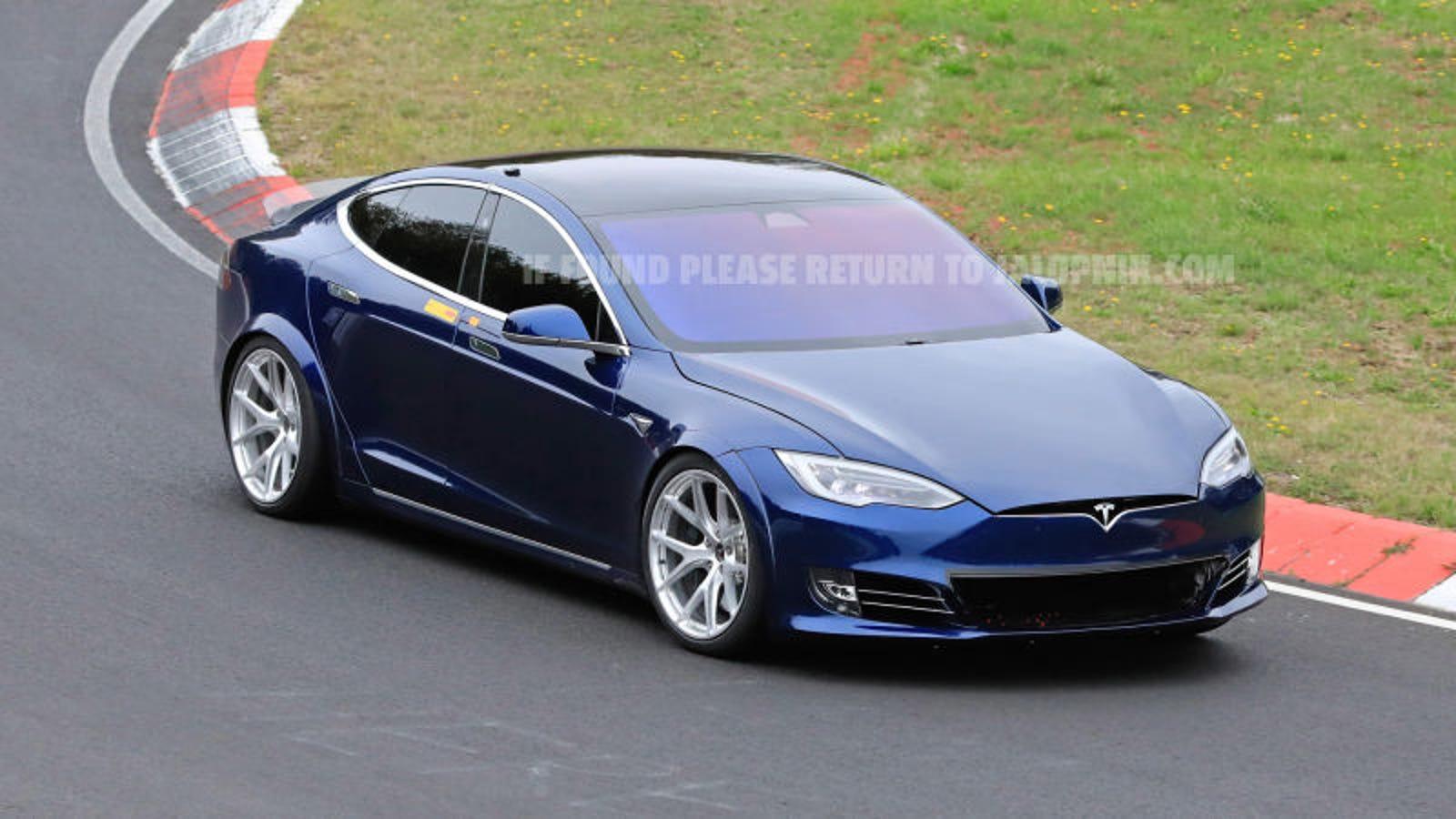 Tesla puede haber aplastado el tiempo en Nürburgring conseguido por el Porsche Taycan Turbo