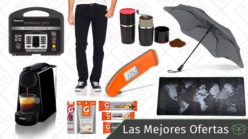 Illustration for article titled Las mejores ofertas de este jueves: Pilas recargables, Levi's, paraguas medio indestructibles y más