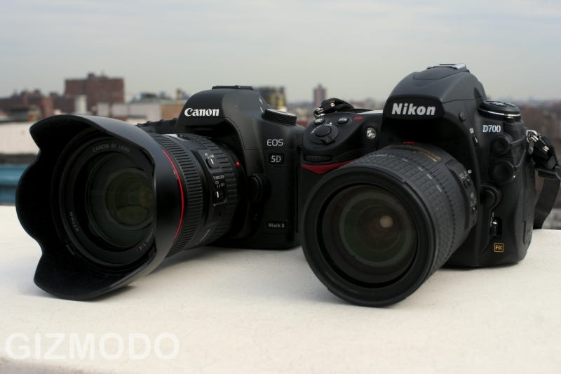 Illustration for article titled Canon 5D Mark II vs. Nikon D700 Review Shoot-Out