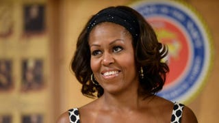 First lady Michelle ObamaJEWEL SAMAD/AFP/Getty Images