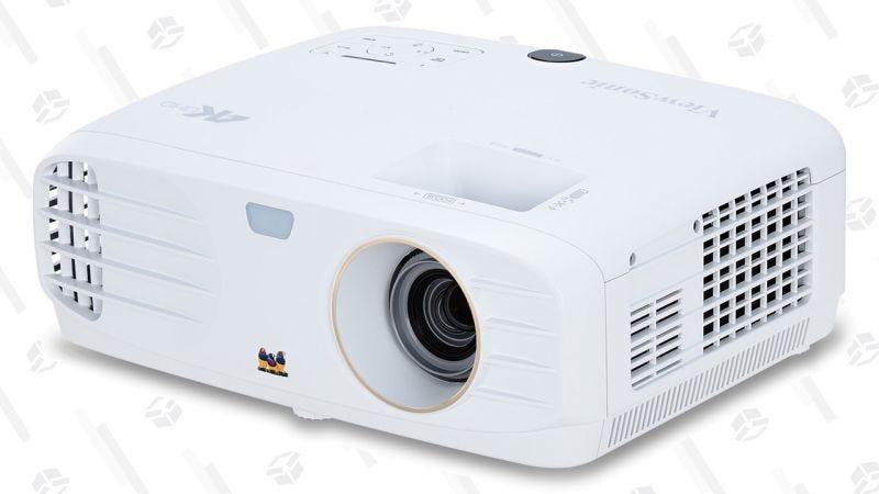 Proyector ViewSonic PX747 4K | $1000 | AmazonGráfico: Shep McAllister