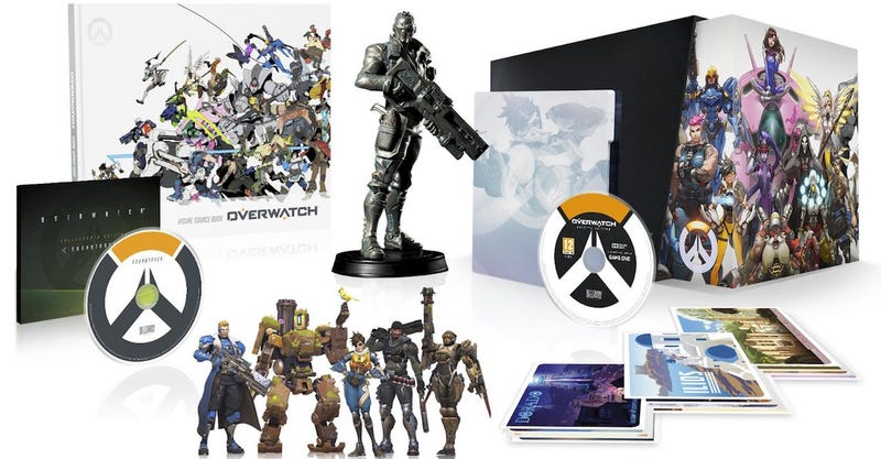 Overwatch Collector's Edition, $100, PS4/PC/Xbox One