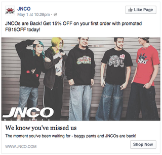 Illustration for article titled When Facebook Ads are downright terrifying