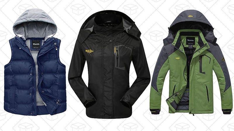 Ahorra un 50% en abrigos Wantdo | Amazon
