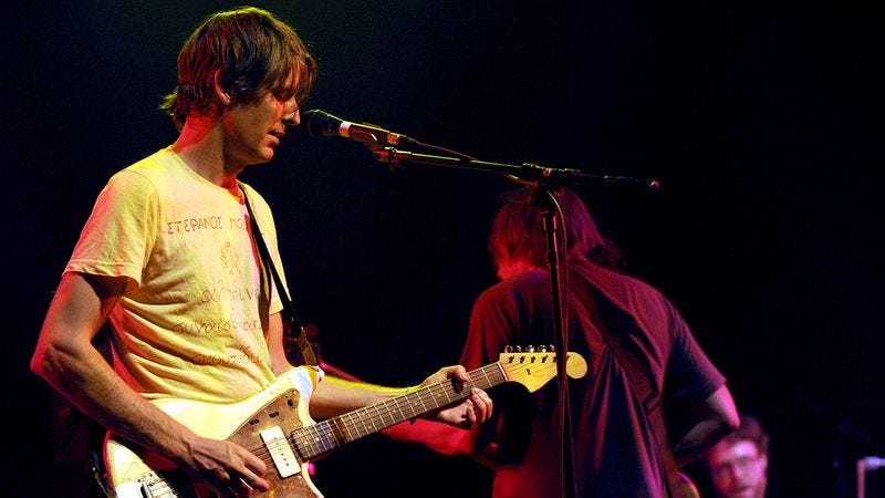 Illustration for article titled Pavement Fans Rejoice! Stephen Malkmus Just Announced That He Is Touching A Guitar Right Now