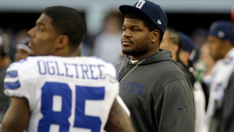 Illustration for article titled Josh Brent Won't Be Allowed On The Cowboys' Sideline For The Rest Of The Season