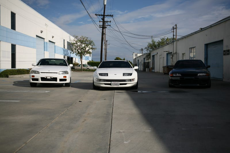 Illustration for article titled I drove an R32 GTR and R34 GTT today