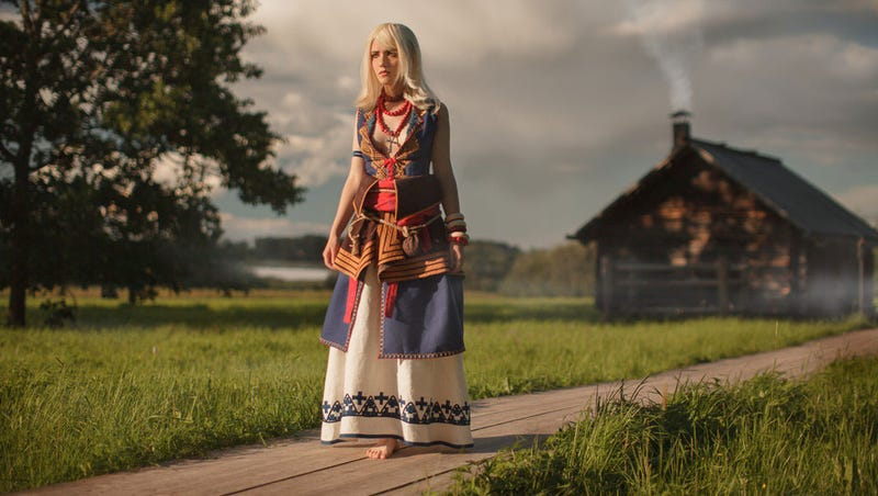 Illustration for article titled Some Perfect Witcher 3 Cosplay