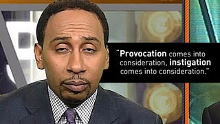 Illustration for article titled I Do Not Believe Women Provoke Violence, Says Stephen A. Smith, Who Has Said Women Provoke Violence