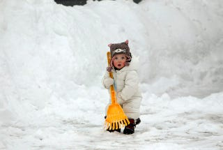 Illustration for article titled The Child Who Will Save Us All From The Snowpocalypse