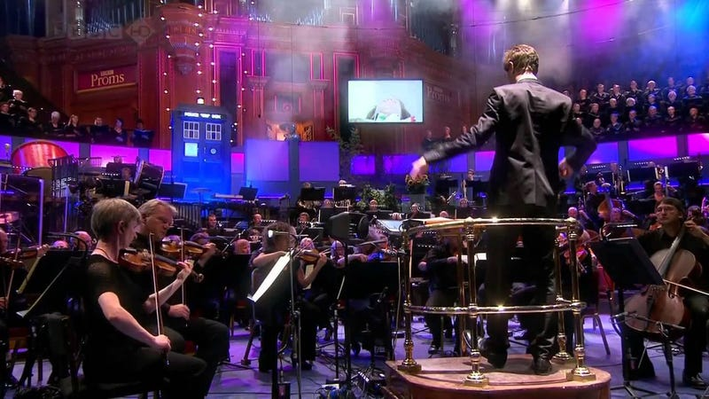 Illustration for article titled Listen to the Doctor Who Prom at Albert Hall - Now Archived!