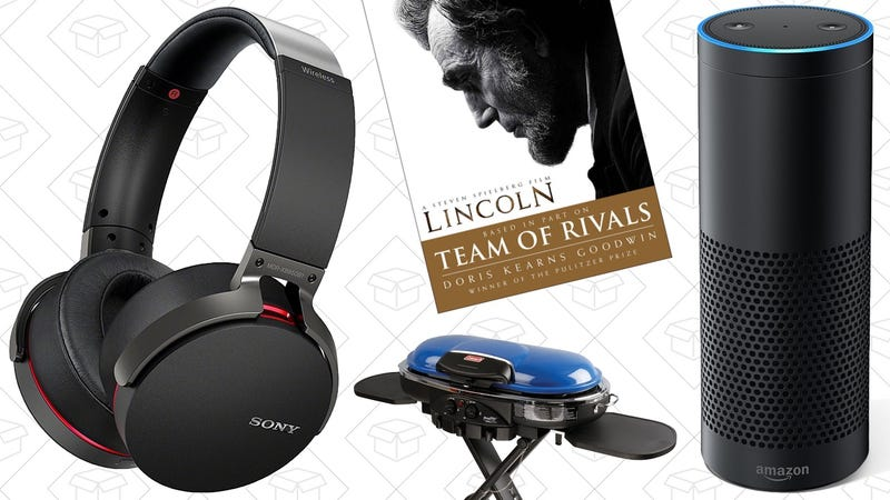 Illustration for article titled Sunday's Best Deals: Sony Headphones, Amazon Devices, Tailgating Gear, and More