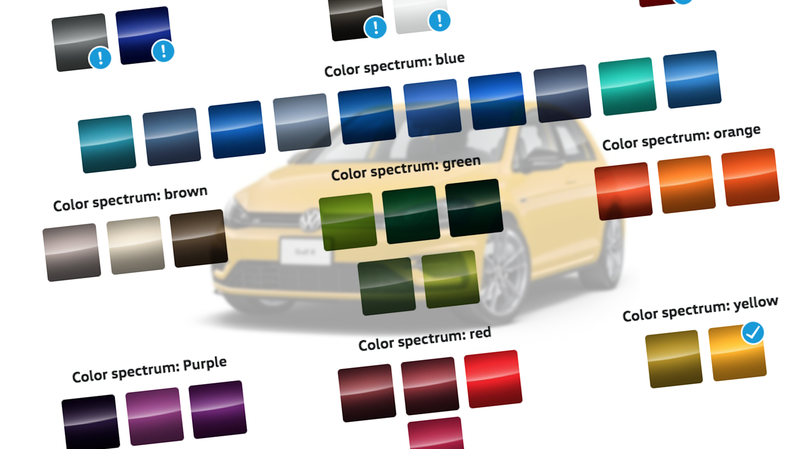 Illustration for article titled Volkswagen Is Doing Color Right For A Change