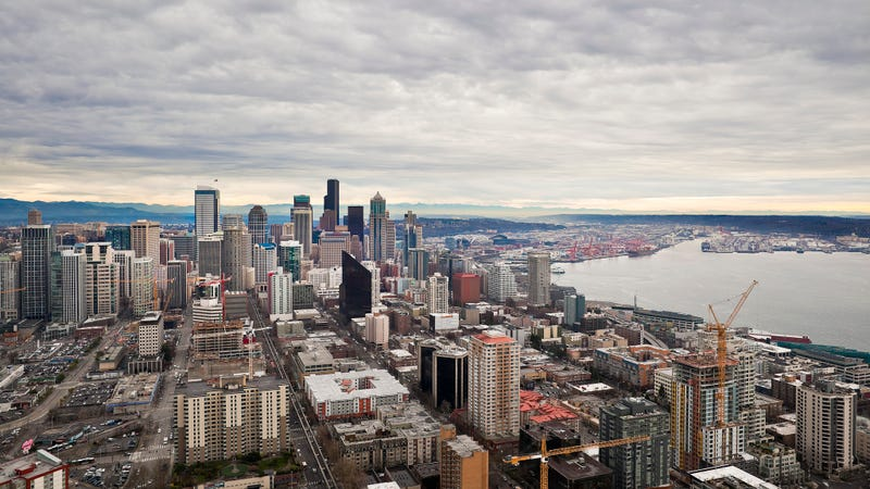 Illustration for article titled Seattle - Viewed from the Space Needle