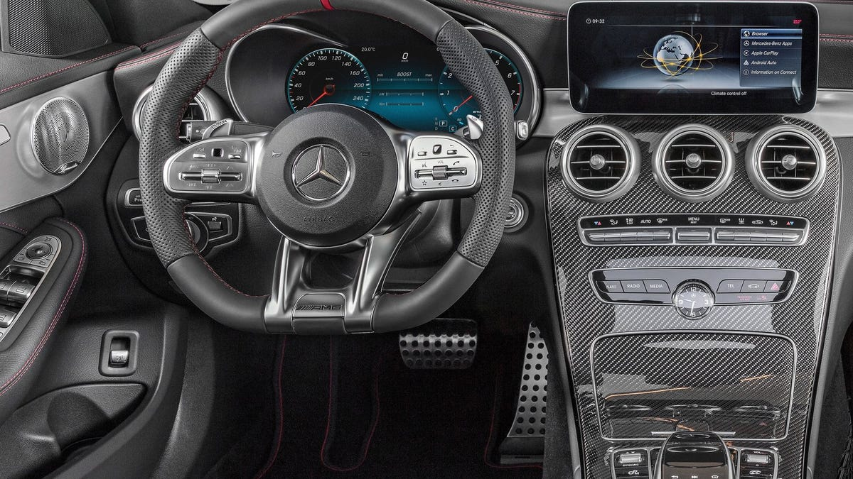 The 2019 Mercedes-AMG C43 Gets Bigger Turbos And Is