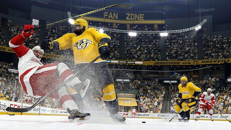 NHL 19 (PS4) | $40 | AmazonNHL 19 (Xbox One) | $40 | AmazonImagen: Amazon