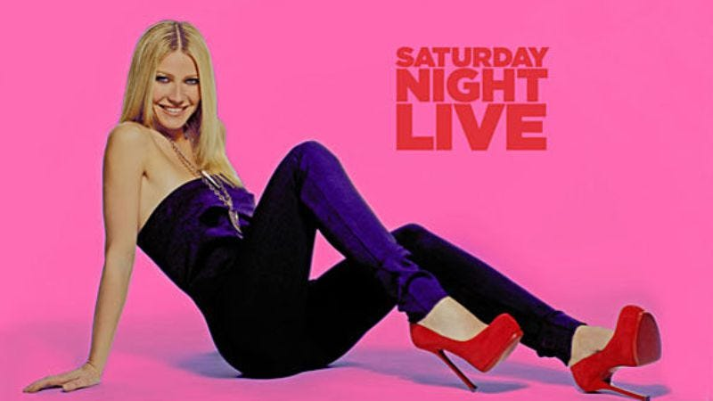 "Illustration for article titled Saturday Night Live: ""Gwyneth Paltrow/Cee Lo Green"""