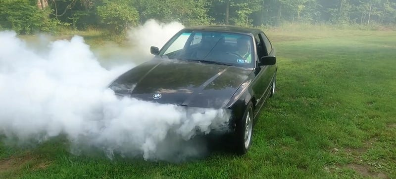 This Mad Genius Built The Strangest-Running BMW You Have Ever Seen
