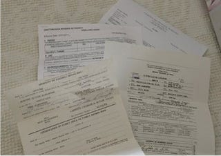 Documents submitted by Dorothy Cooper (Chattanooga Times Free Press)