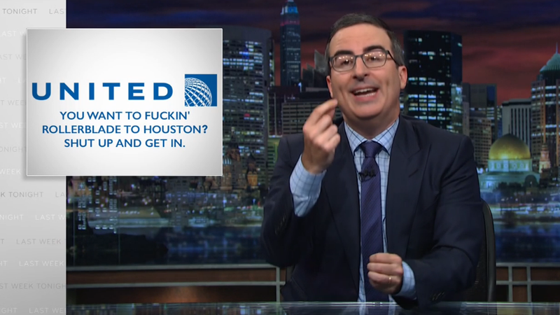 John Oliver celebrates his big Emmy night by trying to scuttle his parent company's merger on Last Week Tonight