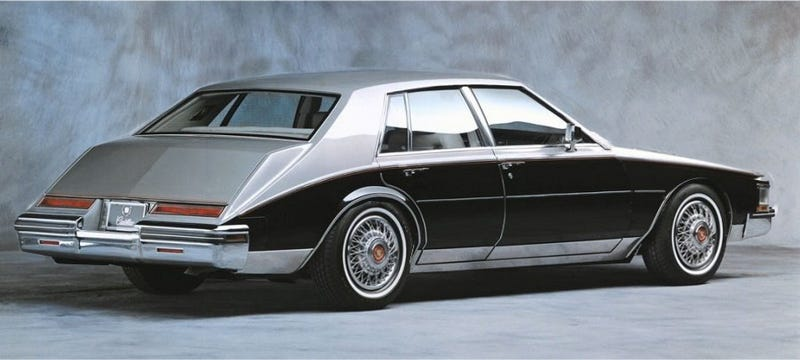 Illustration for article titled I want a seville because I cant afford a lagonda and want something crazy.