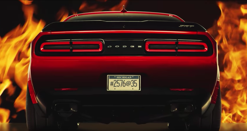Illustration for article titled The Dodge Challenger SRT Demon Will Have The Widest Front Tires Of Any Production Car Ever