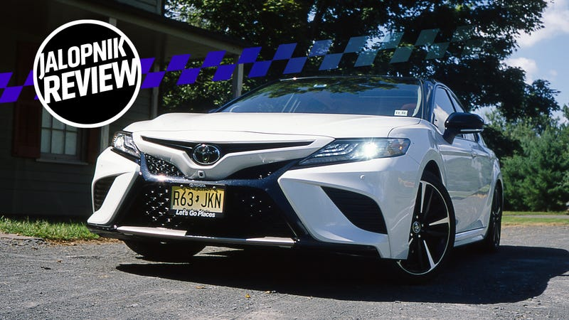 The 301 Horsepower 2018 Toyota Camry XSE Is Hilarious