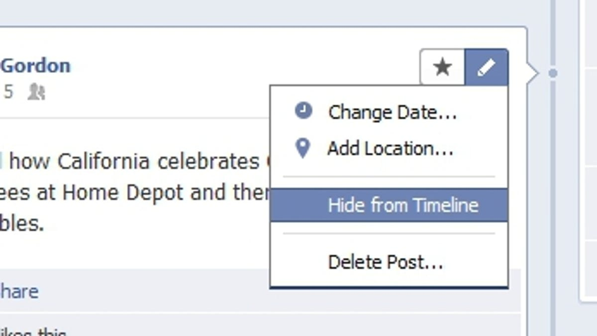 How to hide relationship status on facebook timeline