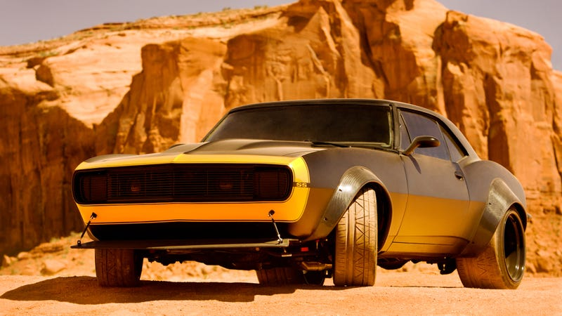 Illustration for article titled Bumblebee Is A Sweet Restomod Camaro In Transformers 4
