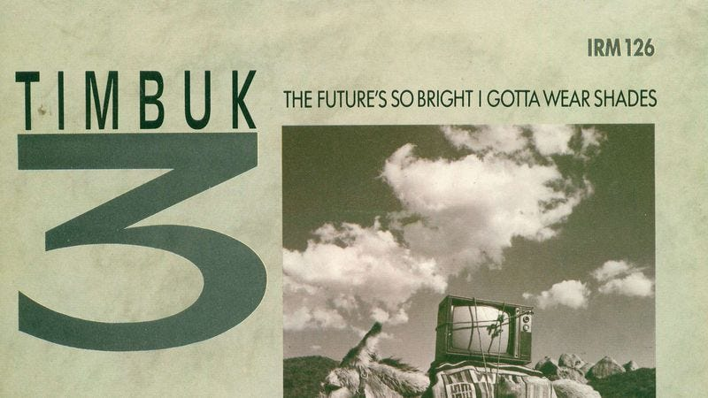 Illustration for article titled Timbuk3 imagined a future made bright by nuclear holocaust
