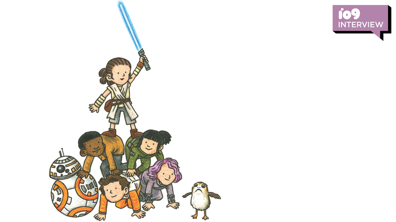 Exclusive: Jeffrey Brown Talks Star Wars: Rey and Pals