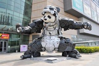 Illustration for article titled Iron Man Plus Panda Is Iron Panda