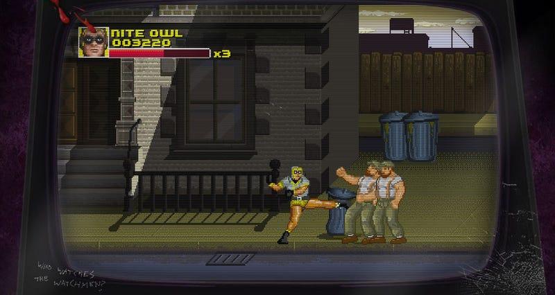 Illustration for article titled Watchmen Brawler Invokes The Spirit Of Capcom