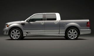 Illustration for article titled Texas Twister: 2008 Saleen S331 Sport Truck Debuts at Texas State Fair
