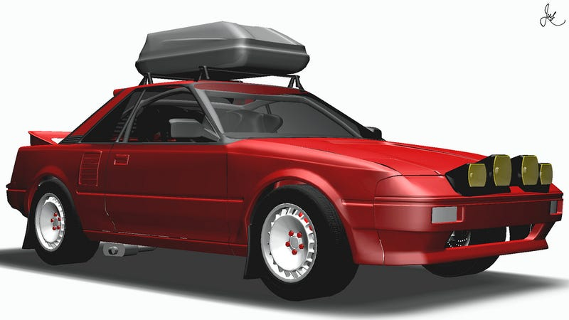 Illustration for article titled #MR2sday - S-Tuner Rally Edition