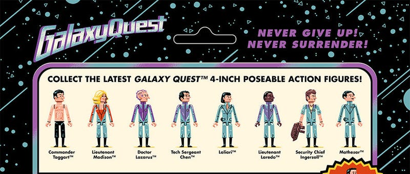 Illustration for article titled Don't Freak Out,Galaxy Quest Fans, But You're Going to Need These Posters