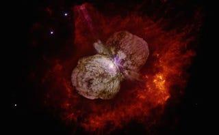 Illustration for article titled La NASA revela cómo es el asombroso interior de una estrella masiva
