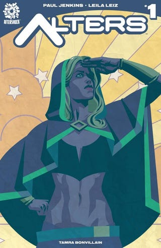 Illustration for article titled AfterShock's AltersWith the First Transgender Superhero?