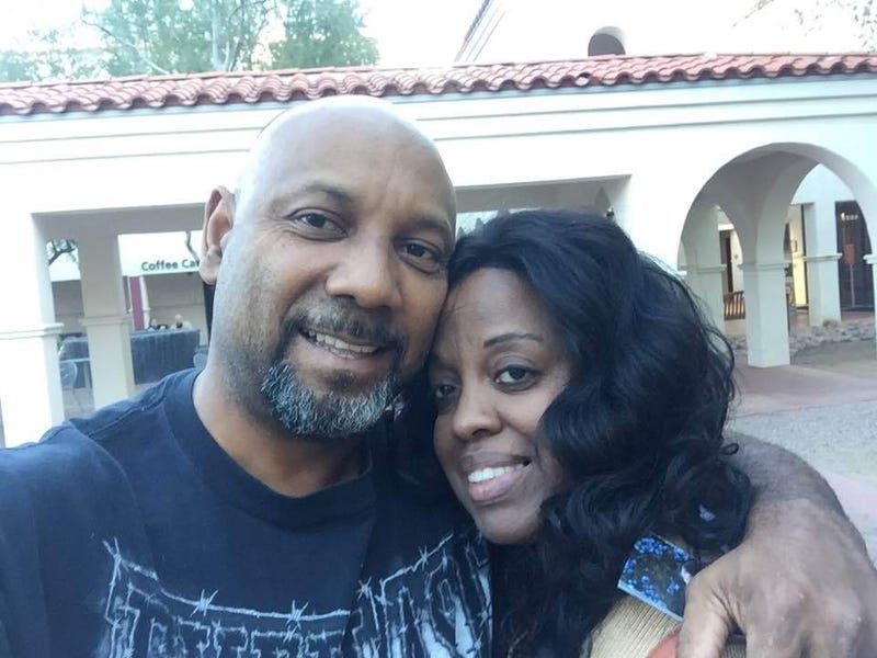 Cedric Anderson and Karen Elaine Smith (Facebook)